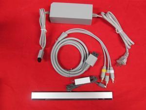 Complete Hookup Connection Kit Composite AV Cable Power Cord Sensor Bar For 0473