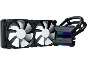 Phanteks Glacier One 240MP D-RGB AIO Liquid CPU Cooler, Infinity Mirror Pump Cap