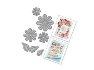 Shapeabilities And Go Flowers Two Etched/Wafer Thin Dies