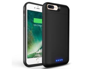e9ad0464dbc For iPhone 6/6s Battery Case 6000mAh Ultra Slim Extended Batery Backup black