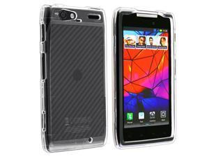 For Motorola DROID RAZR MAXX XT916 HARD Case Snap On Phone Cover Crystal Clear