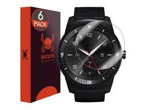 Skinomi TechSkin - Ultra Clear Film Screen Protector for LG G Watch R
