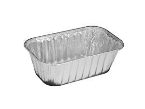 Pactiv 61635, 1-Lbs Aluminum Loaf Pans, 500-Piece Case