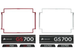 Corsair 700GS Trim Insert Accessories Kit, Red and White P/N CP-8920024 NEW