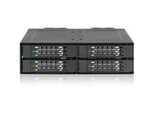 Icy Dock ToughArmor MB699VP-B Drive Enclosure for 5.25  U.2 (SFF-8639) - Mini-SA