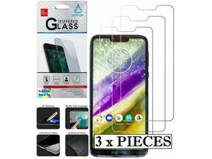3 x Pieces Tempered Glass (2.5D) Screen Protector Film for MOTOROLA MOTO G7 PLAY