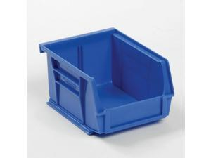 Plastic Stacking And Hanging Bin - Small Parts Storage - 4-1/8 x 5-3/8 x 3,