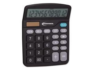 15923 Desktop Calculator, 12-Digit, LCD 15923