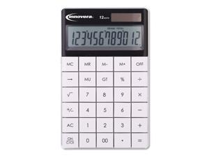 15973 Large Button Calculator, 12-Digit, LCD 15973