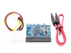 Motherboard Serial to Parallel SATA to IDE/IDE to SATA Drive Interface converter  Bi-Directional Adapter card