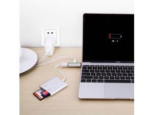 Essential New Computer Accessories USB 3.0 Hub Adapter USB-C Type C Charging & Data Sync for New MacBook Oct30