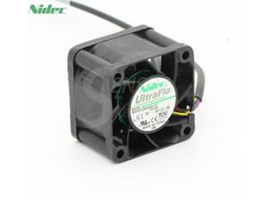 For Nidec 4010 U40X12NS2Z7-51 40mm 4cm DC 12V 0.04A Silent quiet server Computer axial Cooling Fans