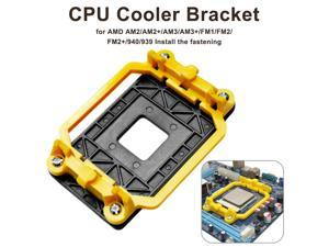 1PCS CPU Cooler Cooling Retention Bracket Mount For AMD Socket AM3 AM3  AM2 AM2 940 CPU Radiator Fan Folder Base