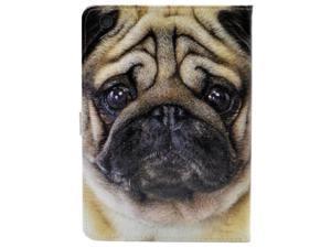 iPad Mini 5 Case 2019,Cute Pug Dog Face Pattern Leather Flip Stand Case Cover for Apple iPad Mini 5th Gen,iPad Mini 4 7.9-inch