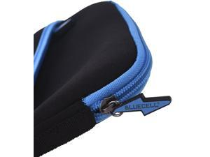 BCP 7-1/2inches External USB DVD/Blue-Ray/Hard Drive/GPS Neoprene Protective Storage Carrying Bag Sleeve/Pouch with Extra Storage Pocket