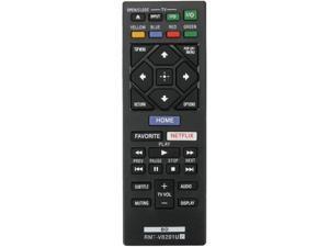 RMT-VB201U Remote Control fit for Sony Blu-ray Disc/DVD Player BD-BX370 BDP-3700 BDP-BX370 BDP-S1700 BDP-S1700ES BDP-S3700 BDP-S6700 UBP-X700 149312311 BDBX370 BDP3700 BDPBX370 (RMTVB201U)