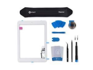 Screen Digitizer Compatible with iPad Air - Fix Kit - White