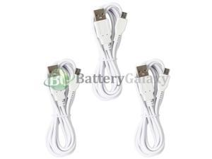 3 Micro USB 6FT Cable Cord for Phone  Galaxy S4 S5 S6 S7 Edge Plus Active