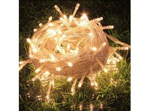 10M 100 LED Christmas Fairy String Party Lights Lamp Xmas Waterproof Warm White