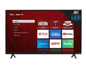 55 inch 4K Ultra HD HDR Roku Smart TV with 3 x HDMI 2019 Model - 55S425