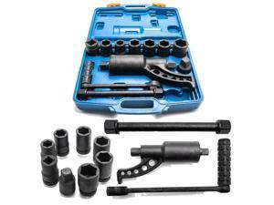 Heavy Duty Torque Multiplier Set Wrench Lug Nut Lugnut Remover w/ 8 Sockets New