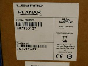Planar Leyard 750-2172-03 4-out 4xHDMI DP IN 4xCat6 Video Controller