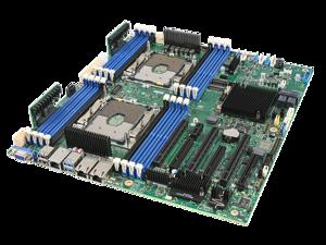 Intel S2600STQR Intel C628 Socket-P DDR4 SDRAM SSI EEB Server Board