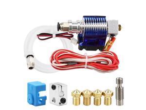 3D Drucker J-Kopf Mit Einzelnen Lüfter Für 3,0 Mm 3D V6 Bowden Filament Wade Extruder 0,2 Mm /0,3 Mm/0,4 Mm Düse