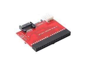 Professional Amplifier 2 In 1 IDE TO SATA/SATA TO IDE Converter Adapter 40pin + Cable for ATA HDD DVD
