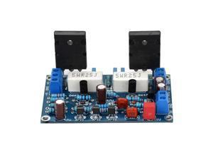 100W 2Sc5200+2Sa1943 Audio Amplifier Board Hifi Mono Channel Amplifier Dual Dc35V Speaker Home Theater Diy