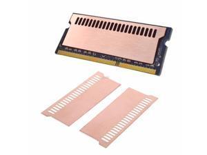 Pure Copper Notebook Gaming Laptop Memory Heatsink Cooling Vest 0.5mm Radiator RAM Memory Cooler Heat Sink
