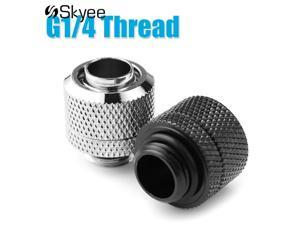G1/4 Water Cooling Fittings External Thread Connector for Soft Tube Water-cooled Heat Sink for PC Computer Water Cooling System