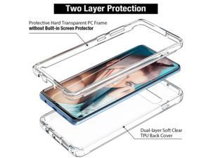Front+Back Full Cover Case Full Protection Clear Soft TPU Cover Casing Case for Samsung Galaxy A52 For Samsung A52 For Galaxy A52 5G