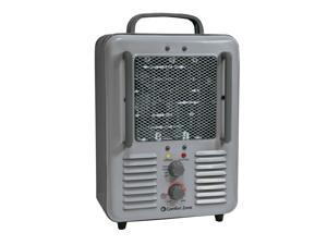 Comfort Zone CZ798 1500 Watt Milkhouse Utility Heater, Grey