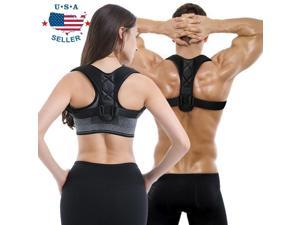 Posture Corrector Back Support Brace Orthosis 8 Clavicle Upper Neck Pain Relief