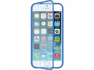 For iPhone 6 Wrap Up Rubberized Hard Snap-in Case Cover w/Screen Protector Navy