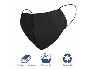 Large Cloth Face Mask Washable Cotton Reusable Fashion Mouth Cover Men Women USA