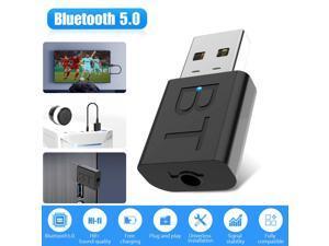 Bluetooth 5.0 Transmitter  Receiver Audio Wireless Adapter 3.5mm A2DP TV Stereo
