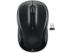Logitech 910-002963 M325 Wireless Mouse -(Purple Swirls)-Black
