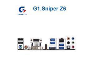 For Gigabyte GA-G1.Sniper Z6 Original Desktop Motherboard G1.Sniper Z6 Z97 LGA 1150 i3 i5 i7 DDR3 32G SATA3 ATX