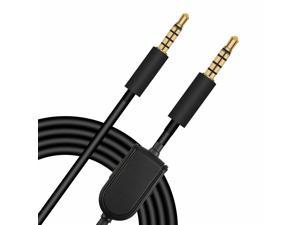 For Astro A10 A40 Gaming Headset Replacement Audio Cable Cord 2M 3.5mm