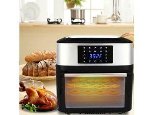 1800W 16L  Air Fryer Oven All-In-One Plus Dehydrator 8 Cooking Prese Grill Home