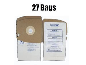 27 Micro Filtron Vacuum Bags for Eureka MM 60295 Mighty Mite 3670 and 3680