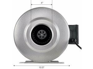 Inline Duct Ventilon Fan HVAC Exhaust Blower HIGH CFM for Grow Tent