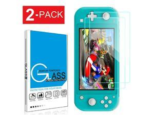 For Switch Lite Screen Protector Tempered Glass Anti-Scratch 2 Pack