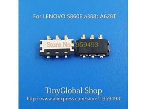 New Connector Plug Battery Clip Holder replacement For Lenovo S860E a388t A628T top quality