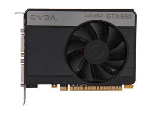 EVGA GeForce GTX 650 PCIe Graphic Video Card 2GB DVI HDMI 128-Bit 02G-P4-2653-KR