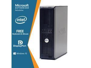 Dell Optiplex 780 Desktop Computer Intel Core 2 Duo 8GB DDR3 256GB SSD DVD Windows 10 Home New Free Keyboard, Mouse,Power cord