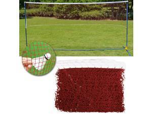 Badminton Tennis Volleyball Net For Beach Garden Indoor Outdoor Games Red