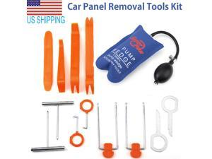 13pcs Car Panel Removal Open Pry Tools Kit Dash Board Door Trim  Pump Wedge